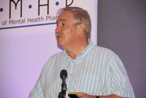 Professor David Nutt inspires delegates at the 2016 conference